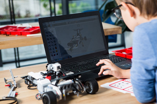 子供ロボットプログラミング