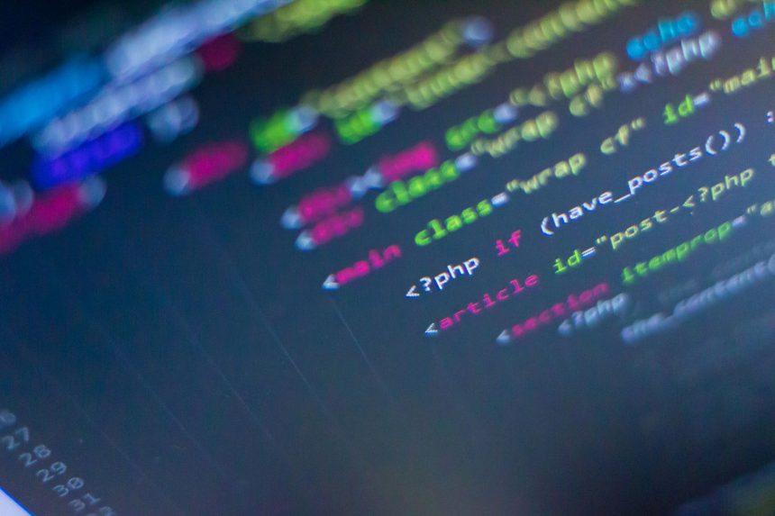PHPのプログラム画面