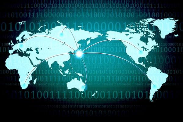 日本と各国を繋ぐ世界地図