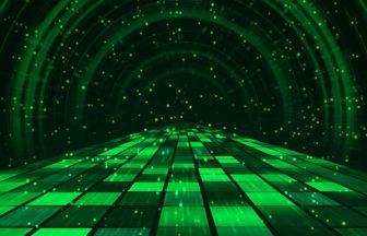 緑の機械的トンネル